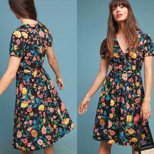 Anthropologie - Maeve Bloedel Floral Dress